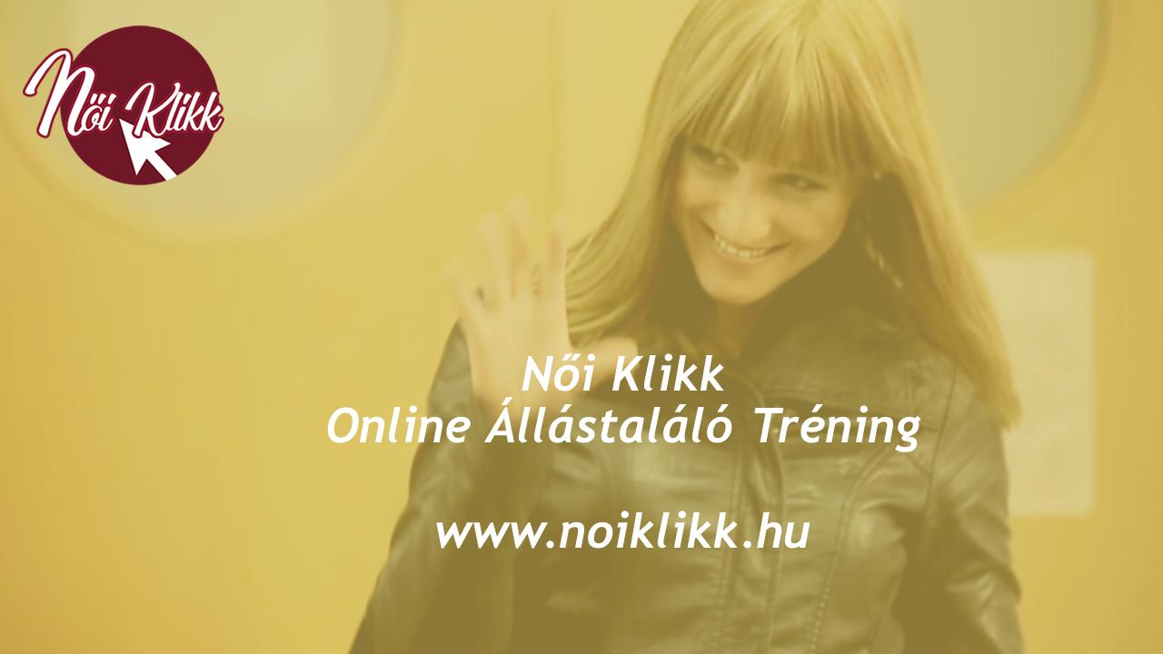 ELINDULT: Női Klikk Online Állástaláló Tanfolyam munkakeresőknek